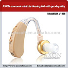 AXON economic mini bte Hearing Aid with good quality V-168