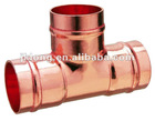 J9401 Copper Equal Tee copper fitting