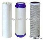 different type water filter element