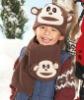 kid's fleece scarf and hat set