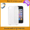 Transparent TPU water cases for iphone 5