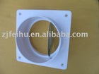 ventilation door of range hoods, check valve, non-return valve