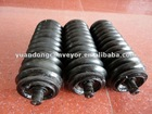 belt conveyor carrier bearing rubber roller
