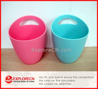 Promotional ice buckets plastic