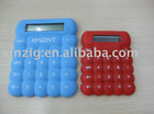 hotsell silicone calculator for pronotional Christmas gift