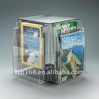 slat-wall acrylic magazine holder