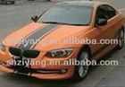 orange car color changing PVC vinyl film, AIR bubbles free, 1.52*30