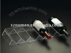 Flatting Wave Acrylic wine holder acrylic Wine stands
