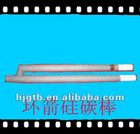 Gun type silicon carbide heating rod