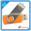 Thumb Swivel Design Orange 2GB USB Flash Drive (C00745)