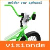 BICYCLE BIKE CYCLE PHONE HOLDER MOUNT FOR IPHONE 5 MOBILE PHONE FREE SHIPPING