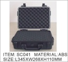 plastic case(SC041),waterproof,crushproof, dust proof ,best price