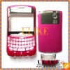 For BlackBerry NEXTEL 8350i housing - front with lens, bottom clip and battery door