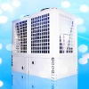 Anti-corrosion swimming pool heat pump with titanium heat exchanger
