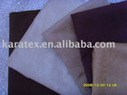 fire proof suede fabric