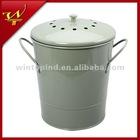 0.8 Gallon Iron Compost Pail