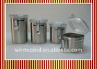 Square storage canister set