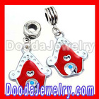 Cheap Enamel European Christmas House Charms in Bulk
