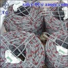 Galvanized steel red brand barbed wire