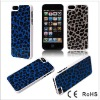 2012 new leopard leather case for iphone5