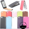 "genuine leather for iphone 5"" case"