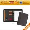 A4 leather portfolio folder