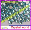 flat back rhinestone DIY nailart decoration crystal ss16 aquamarine