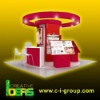 Cosmetic Kiosk Glasscase Display Counters
