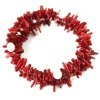 Beautiful coral charm bracelet CRB0038