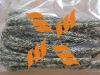 dyneema core,polyester/kevlar cover