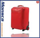 New stylish PU trolley Luggage bag