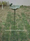 garden art bird bath