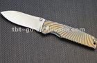 vg10 damascus pocket Knife with Aluminum Handle,folding pocket knife