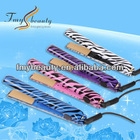 Hot Sale in USA Zebra Print Professional ceramic hair straightener