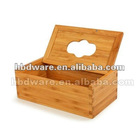 Tissue box wood