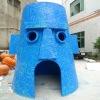 fiberglass garden decorations-creative tree house