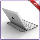 ultra thin aluminium bluetooth keyboard for ipad