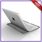 ultra thin aluminium bluetooth keyboard for ipad
