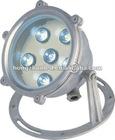 6W led recessed underwater light