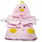 100% cotton bathrobe