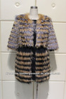 Fur coat Multi-fur mixed jacket (EAO-028)