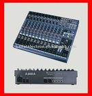 Professional studio audio mixer console