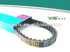 Motor Rubber Variable V belt 642x15.5