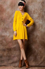 2013 fashion young girls cashmere dress