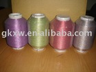 MX-type metallic yarn with cotton yarn any colors