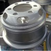 hype silver heavy truck wheels 5.50-16 for heavy and light trucks
