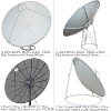C band satellite antenna, satellite dish,CATV antenna