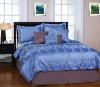 embroidered home bedding set