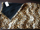 100%polyester short pile fleece with polar fleece at back side BL-BK-0039