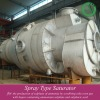 Sulfuric acid plant based on offgas emission from Cu smelting